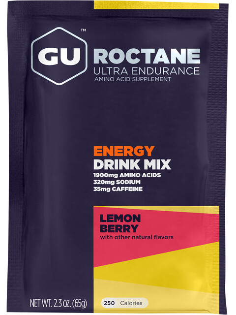 GU Energy Roctane Ultra Endurance Energy Drink - Nutrition sport - Lemon Berry 65g